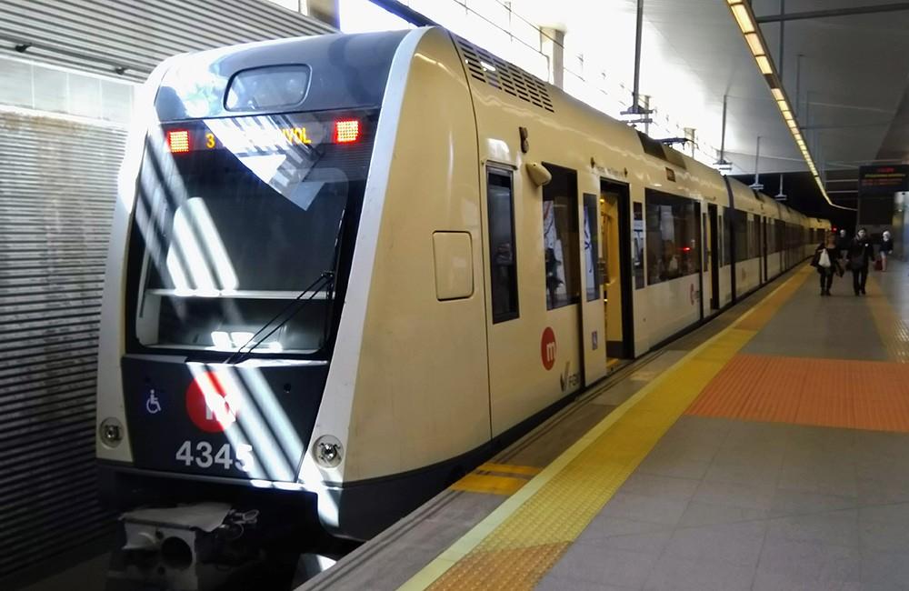 public transit in Valencia, Spain