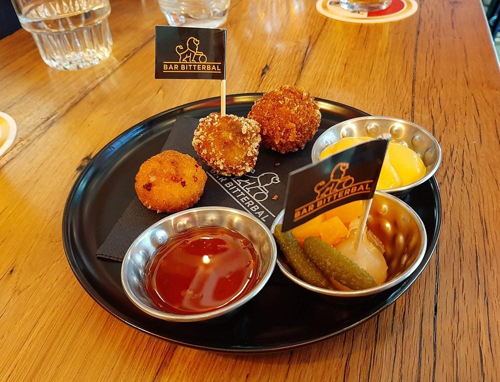 bitterballen - typical Dutch food