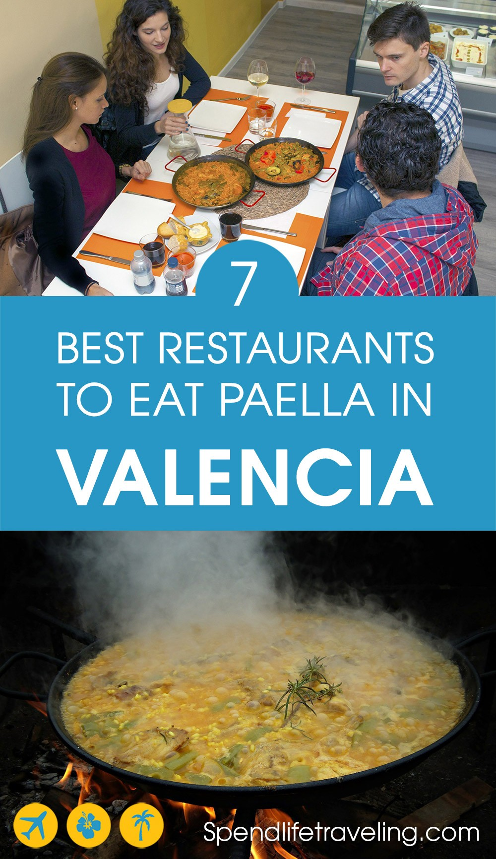7 restaurants to eat paella in Valencia