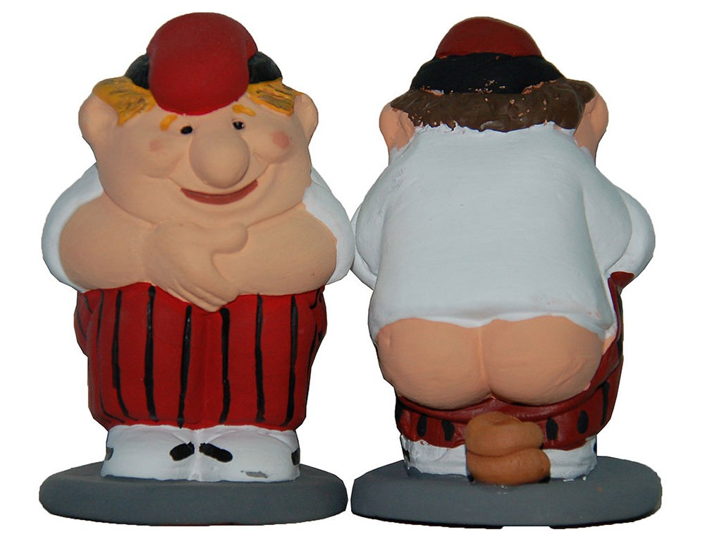 crazy Spanish Christmas traditions: El Caganer