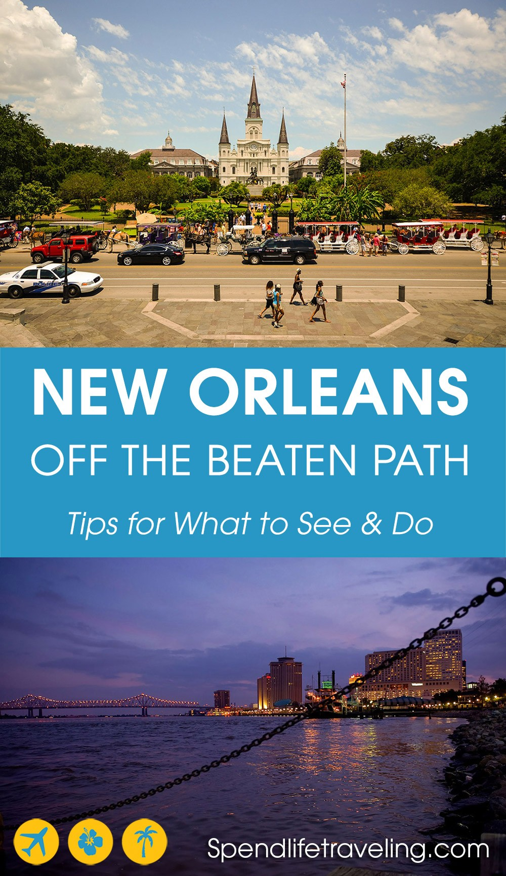 Tips for things to do in New Orleans if you really want to get to know the city. #NewOrleans #Louisiana #offthebeatenpath