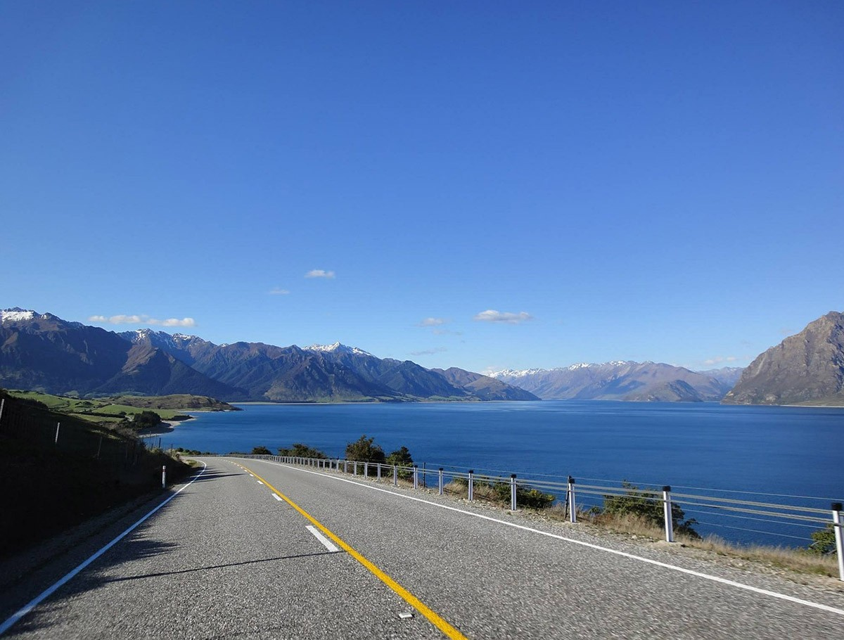 New Zealand South Island road trip