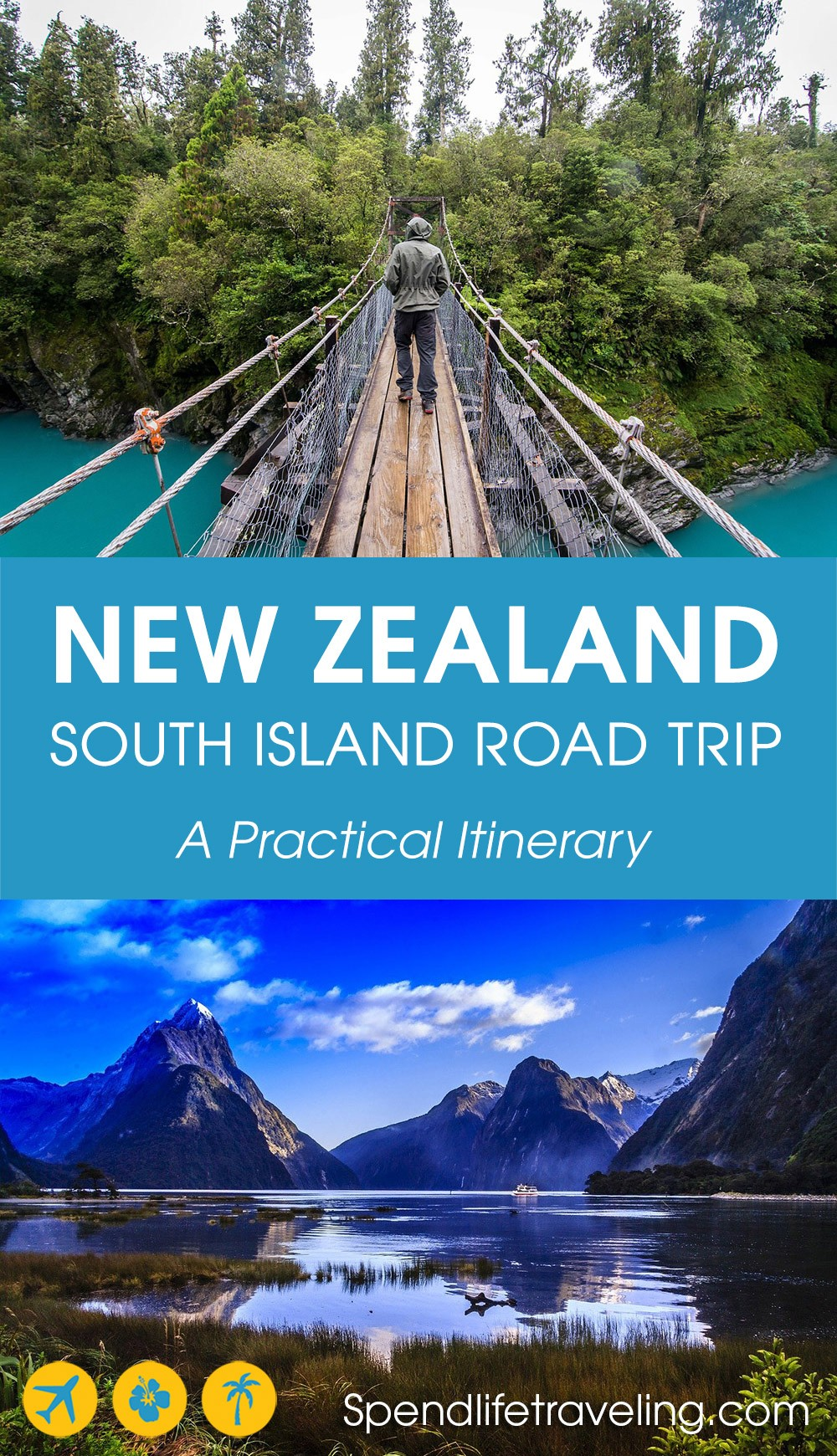 planning the perfect New Zealand South Island road trip