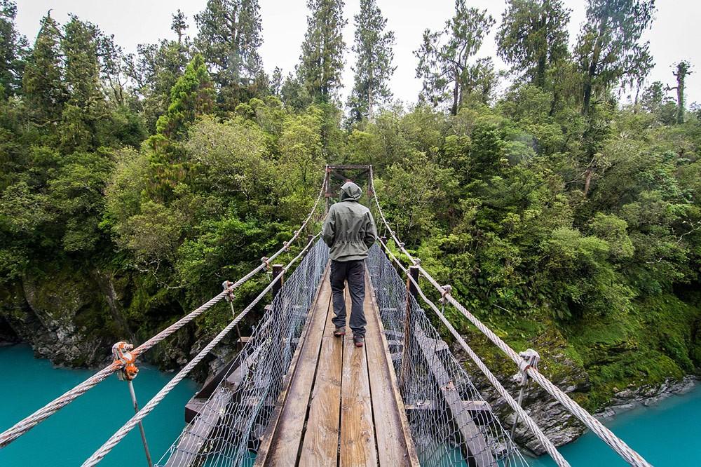 Hokitika Gorge - day 8 & 9 of the New Zealand South Island road trip