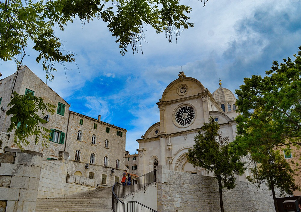 the Cathedral of St. James - best places in Croatia