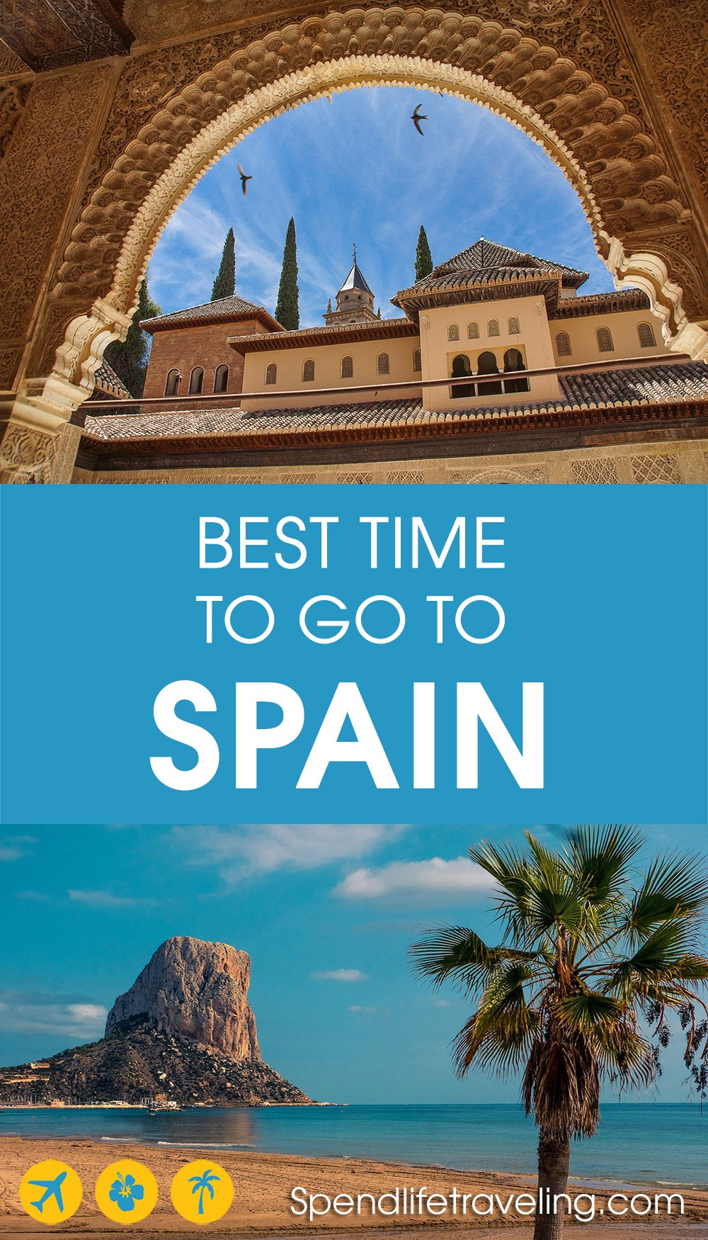 best time of year to visit Spain