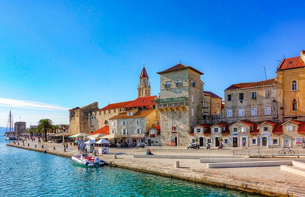 the city of Trogir, Croatia