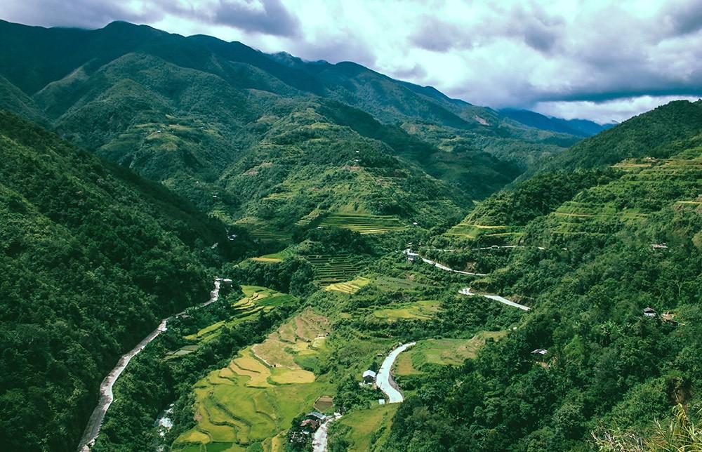 landscape in Luzon, Philippines