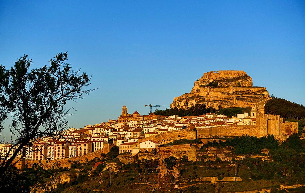 a view of Morella