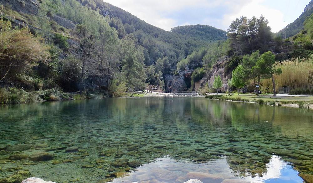 Montanejos hot spring