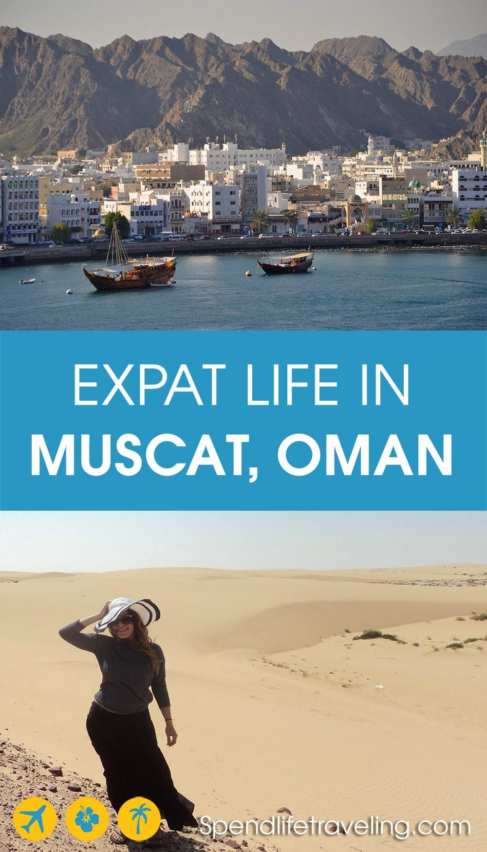 expat life in Muscat, Oman