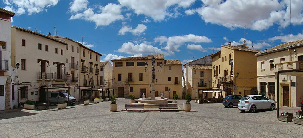 the center of Requena