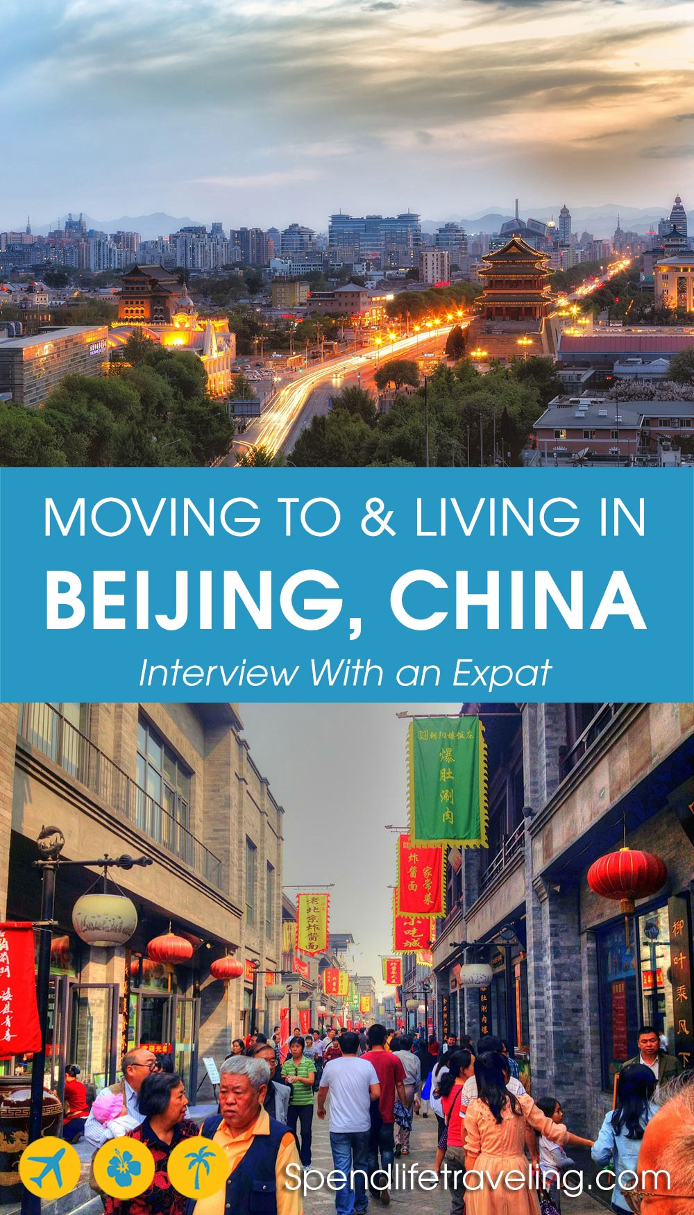 moving to and living in Beijing