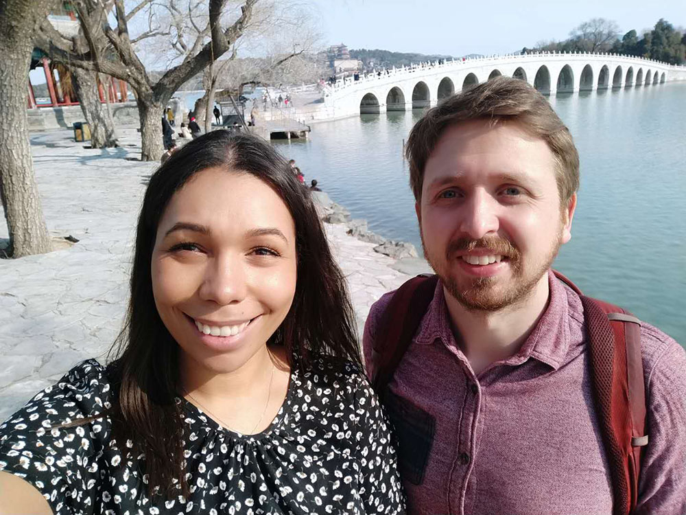 2 expats in Beijing