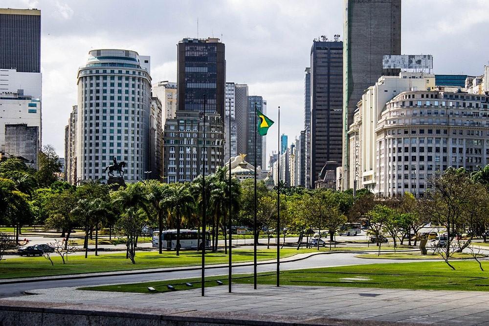 skyline of Rio de Janeiro