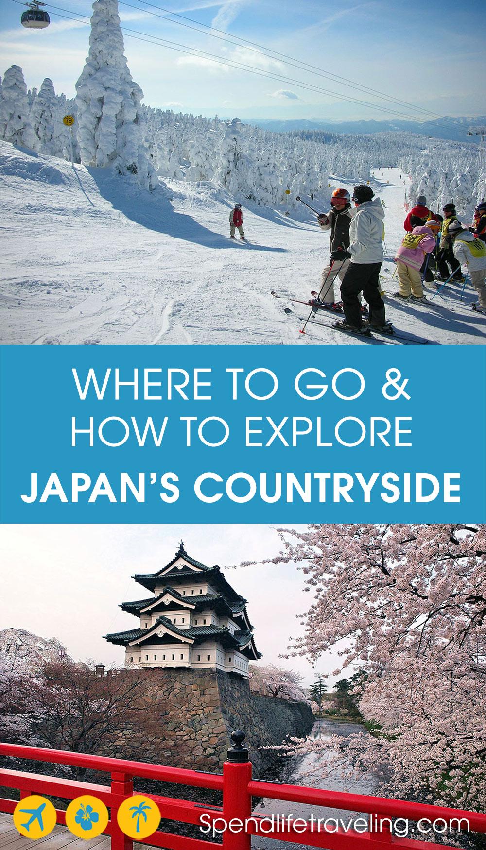 exploring Japan's countryside