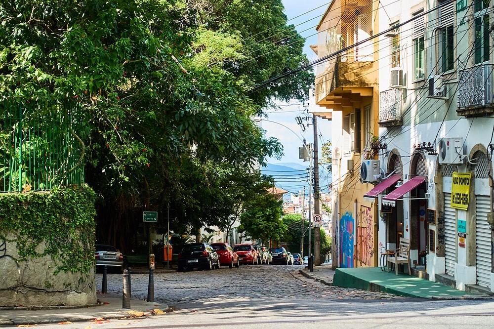 a street in Rio