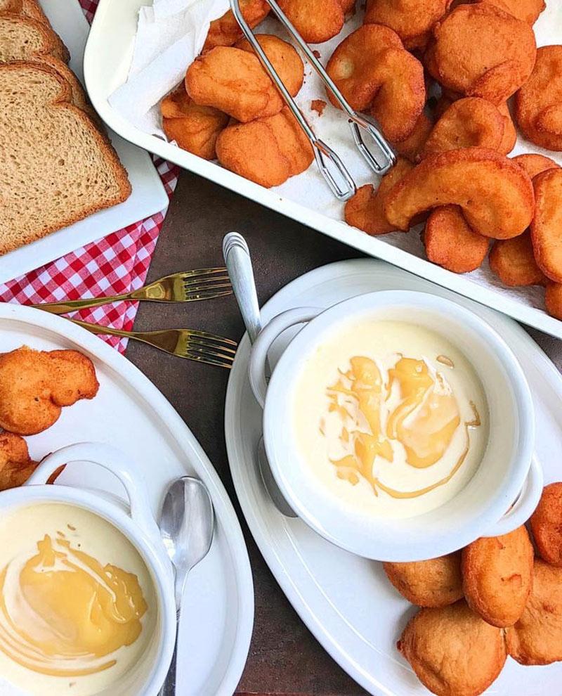 Akara balls, a Nigerian street food