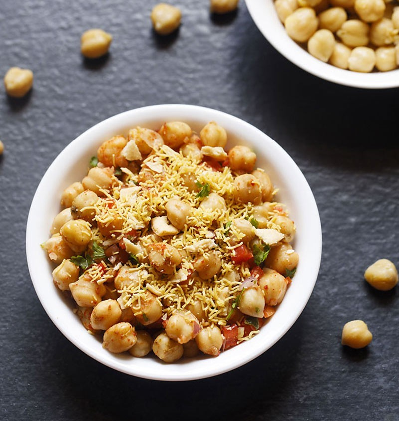 Indian Chana Chaat recipe