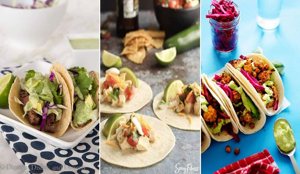 3 street food recipes for Mexican tacos
