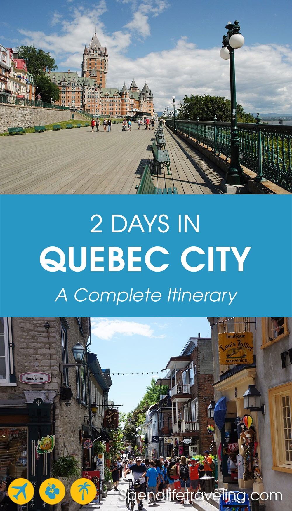 2 days in Quebec City, Canada