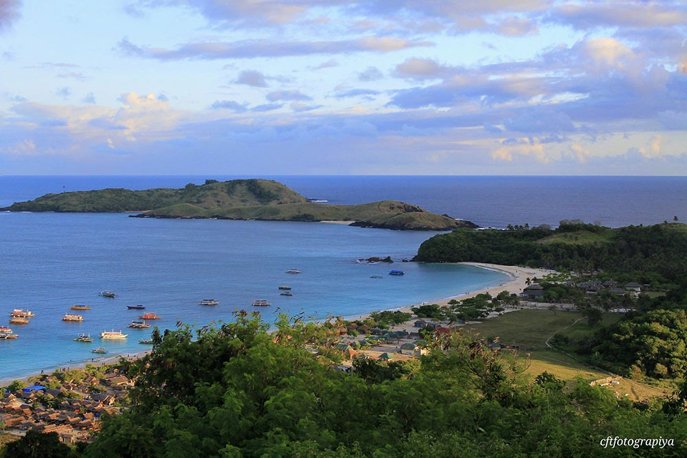 Calaguas Islands from above