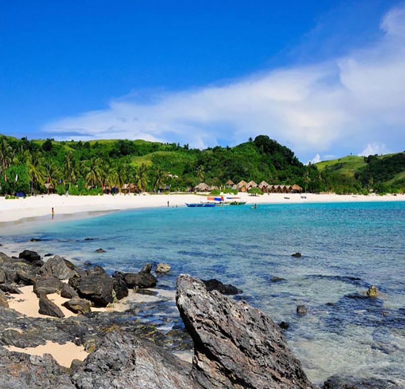enjoying Calaguas Island