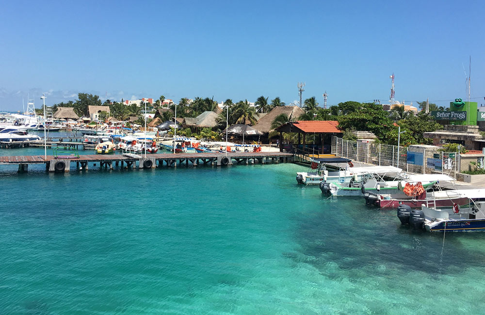 a day trip to Isla Mujeres