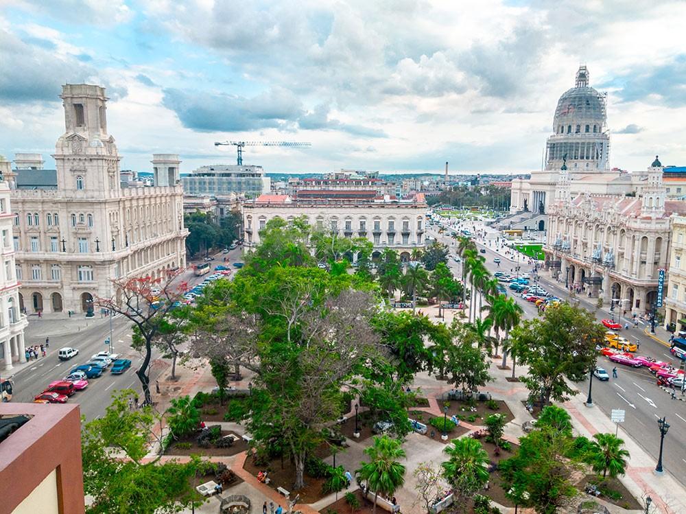 Parque Central in Havana