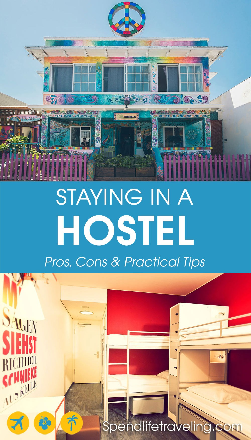 Pros and cons of staying in a hostel