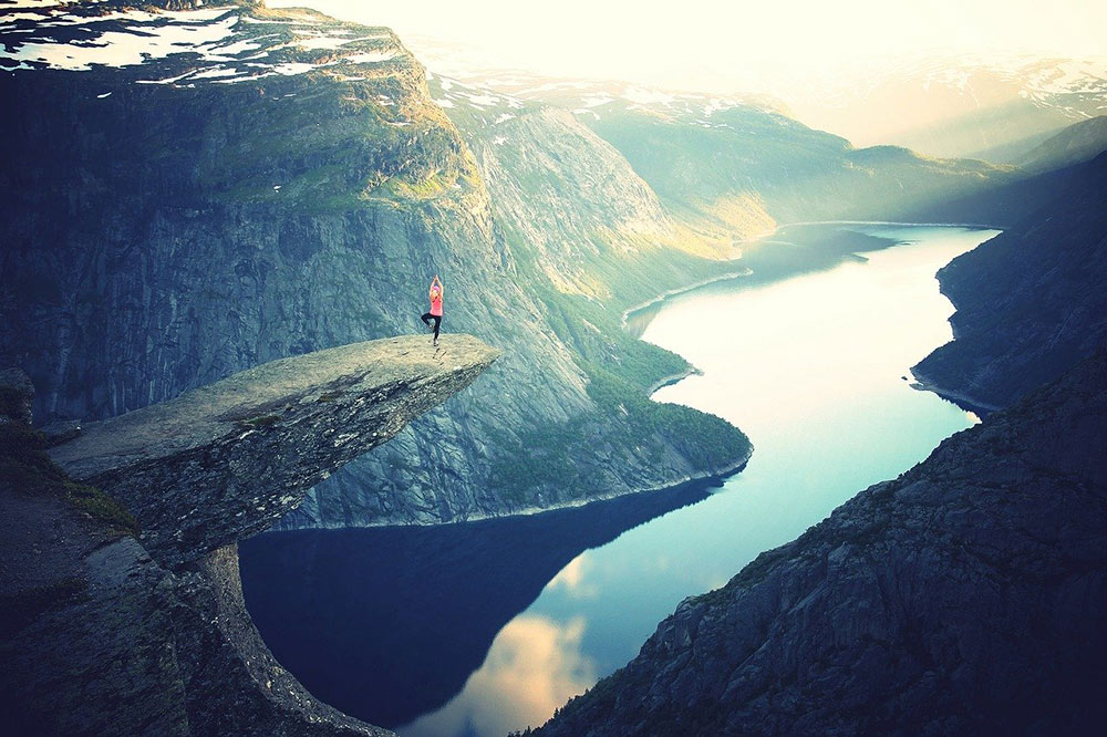 the famous Trolltunga hike in Norway