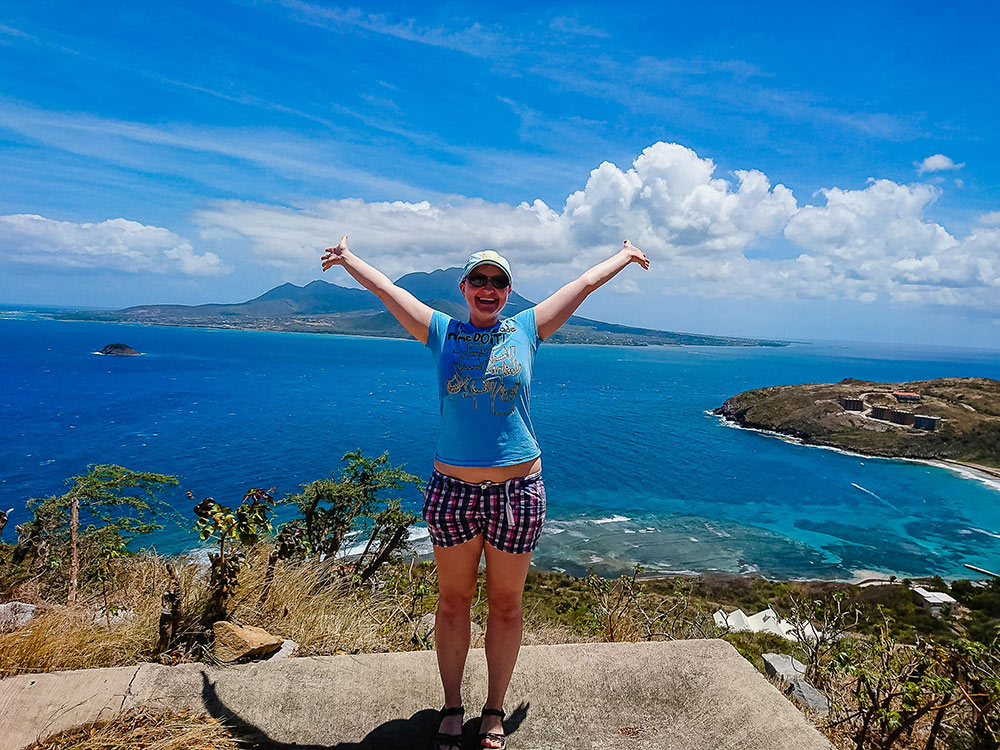 an expat living in St Kitts