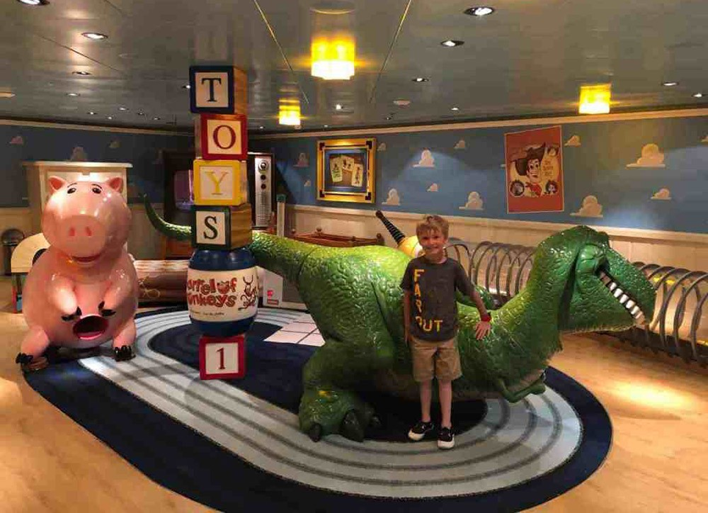 kids club on a Disney Cruise