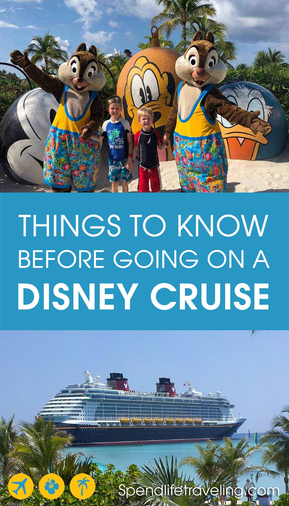 things to know before going on a Disney Cruise