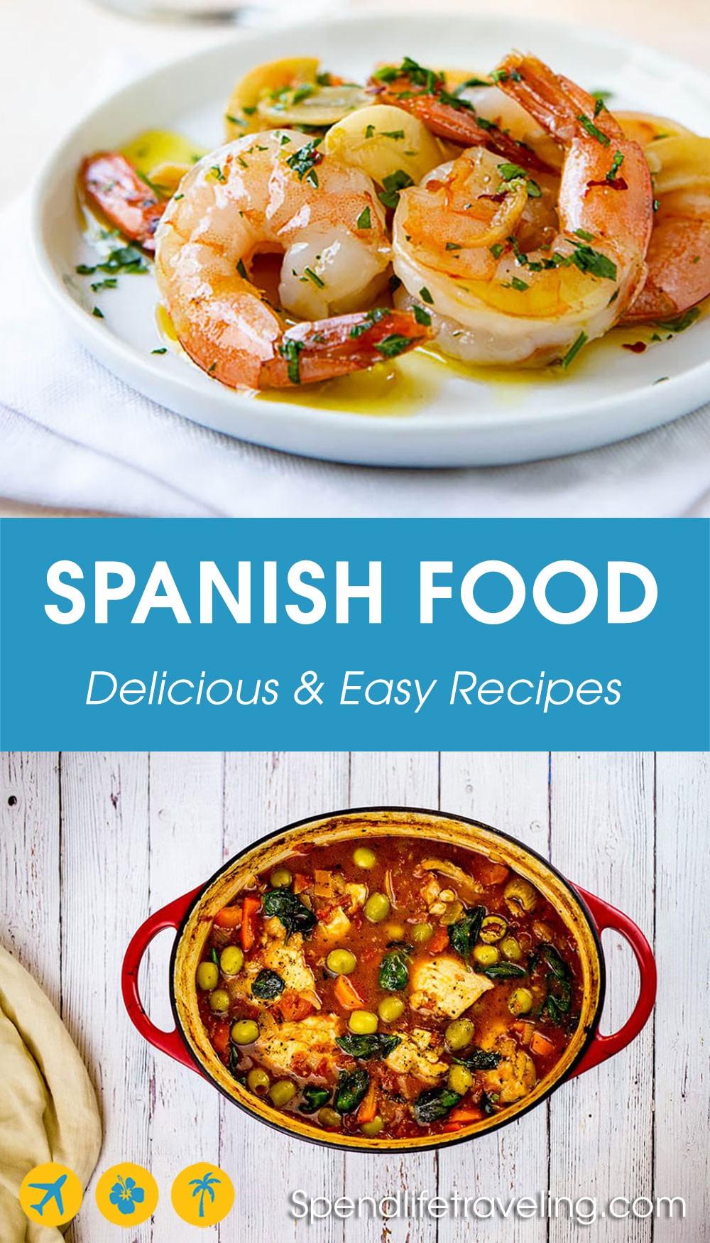 2 popular Spanish dishes