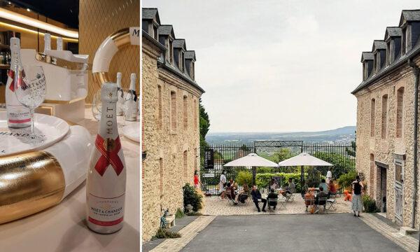 Visiting Champagne, France