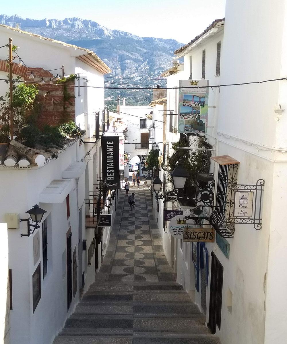 Altea's old town
