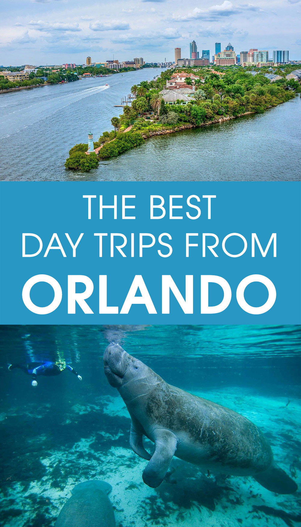 the best day trips from Orlando, Florida