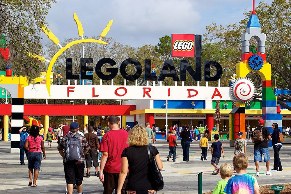 visiting Legoland with the kids