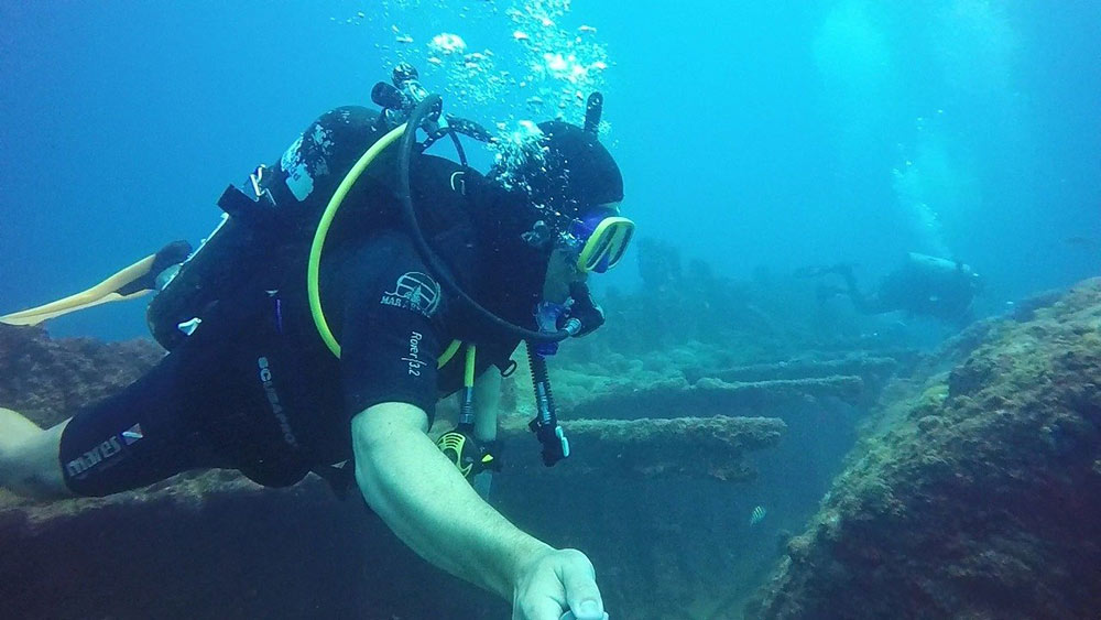 best wreck dive in the Caribbean