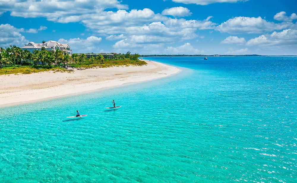 a beautiful beach on Turks and Caicos