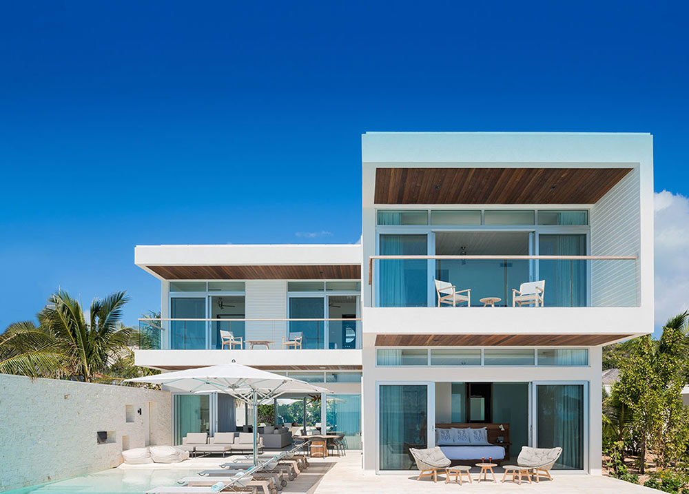 one of the best luxury villas in Turks and Caicos