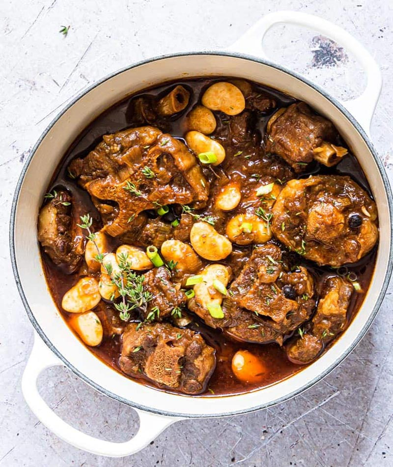 Jamaican oxtail stew recipe
