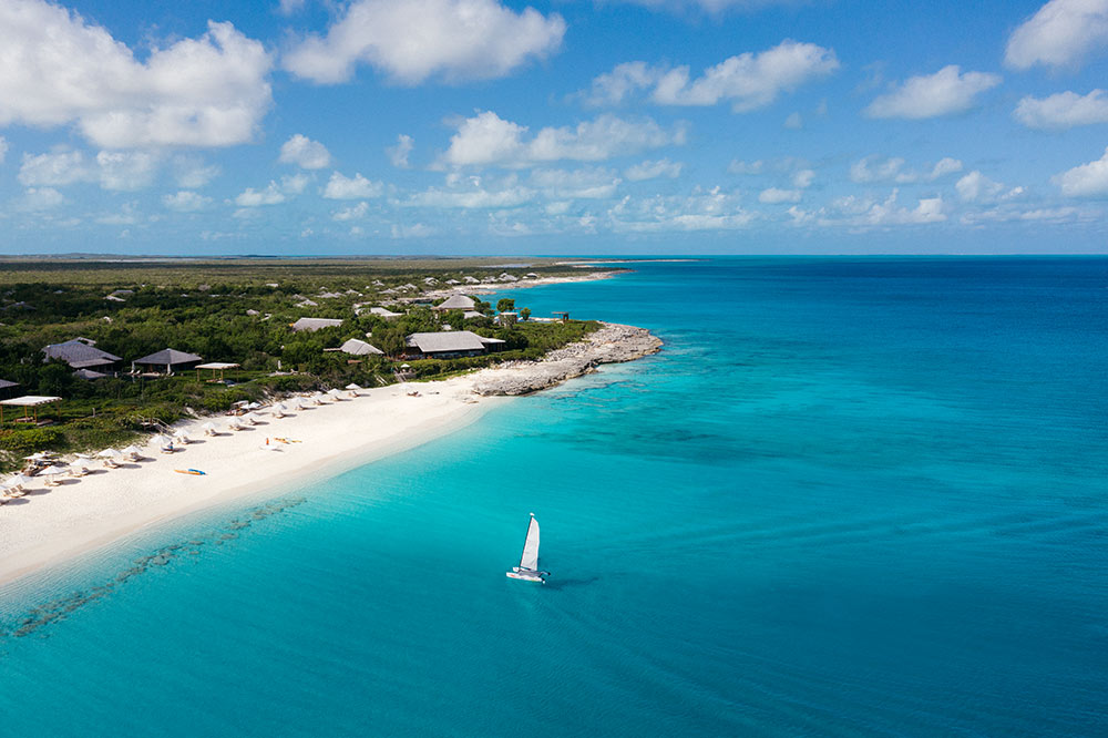 luxury resort in Turks and Caicos
