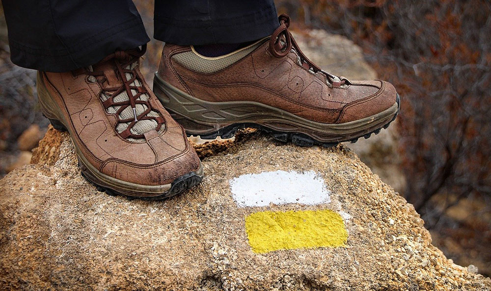 a pair of good shoes, they are trekking essentials