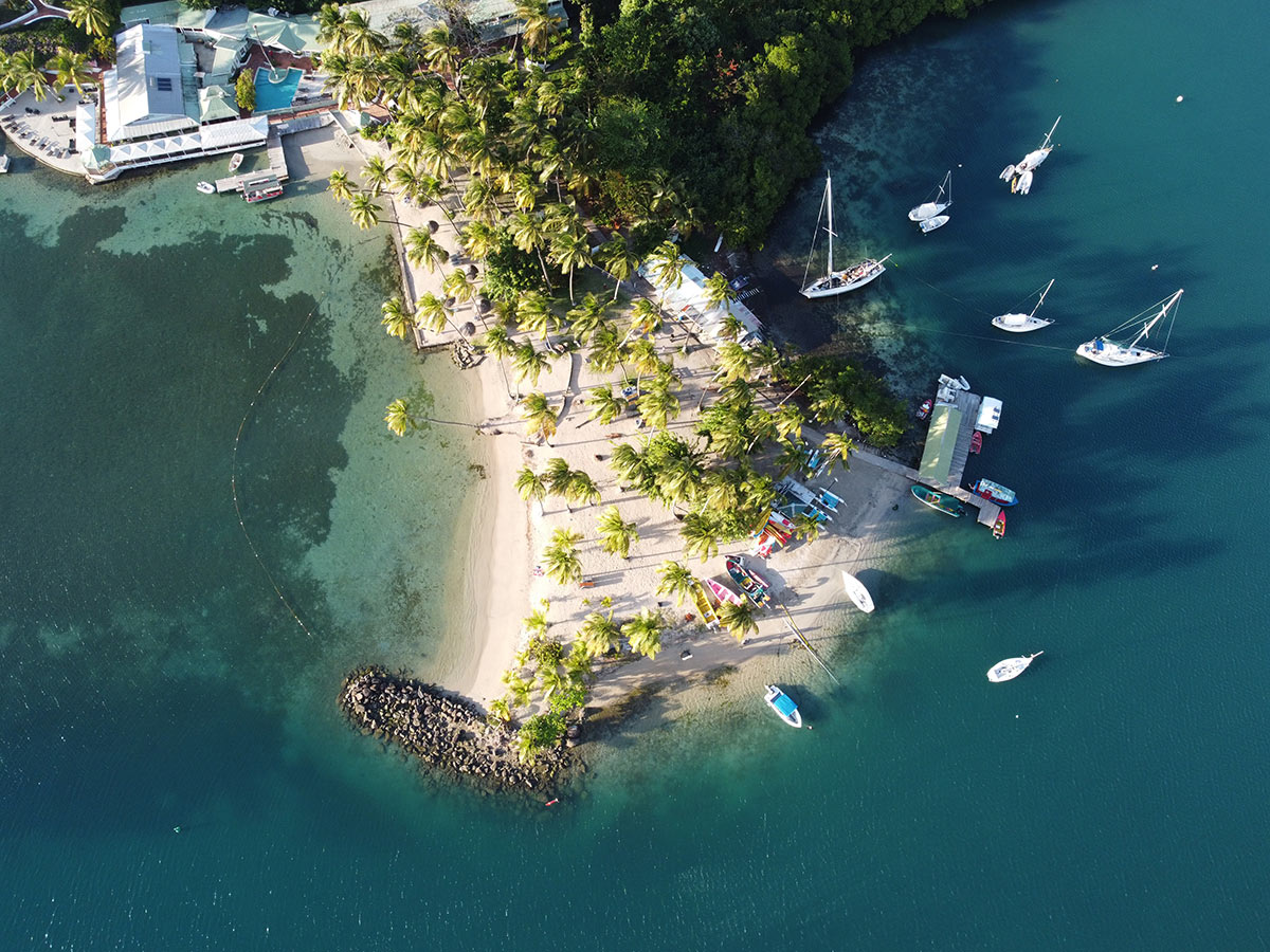 sailing in Saint Lucia