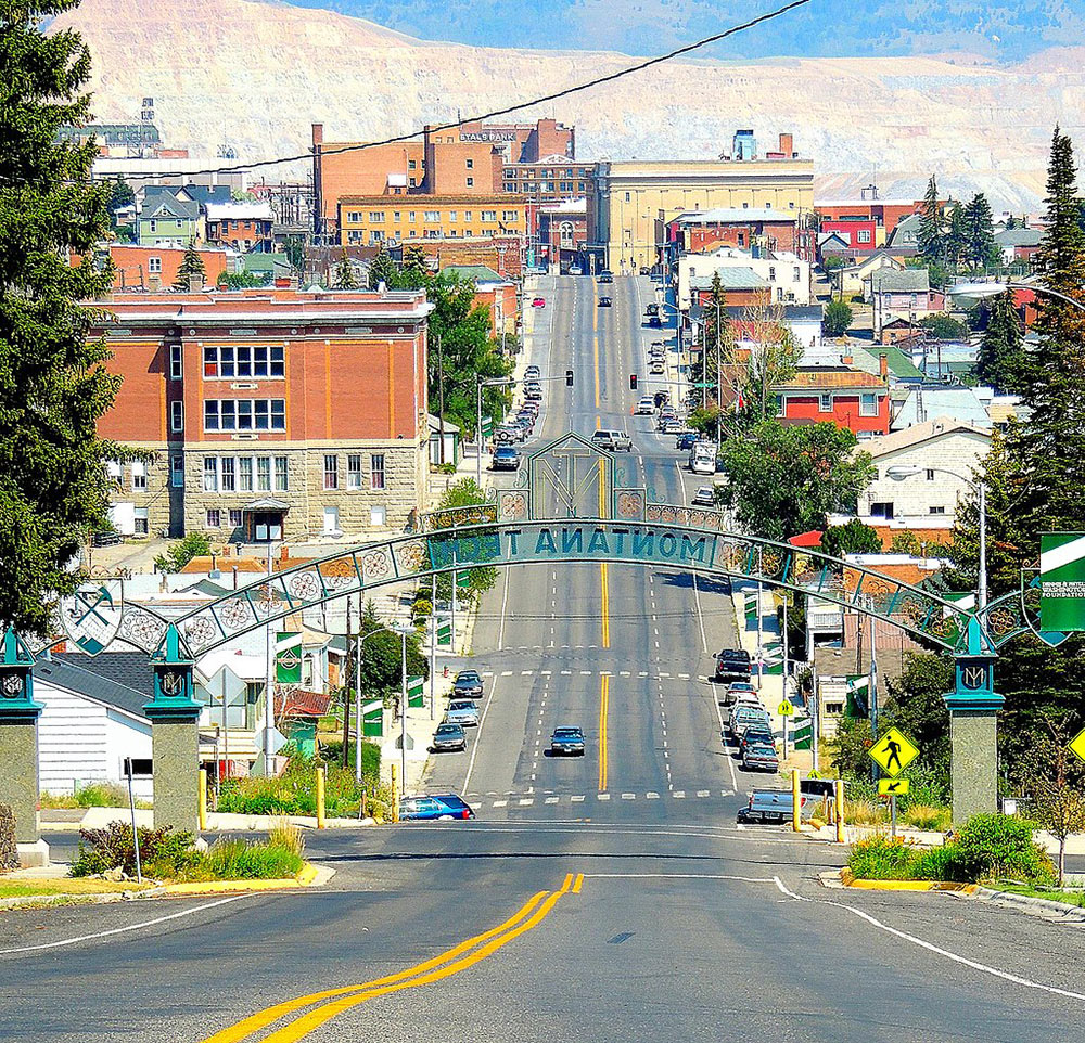 A day trip from Helena to Butte