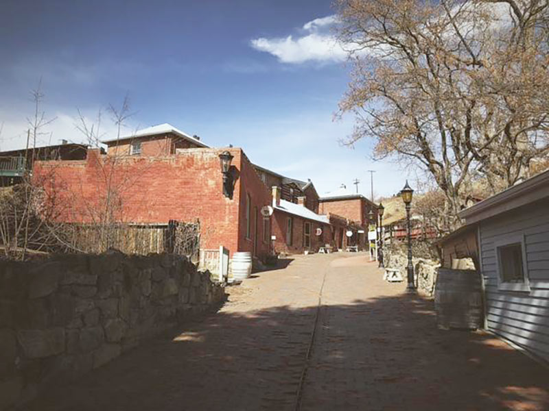 Reeder's Alley on a day trip in Helena