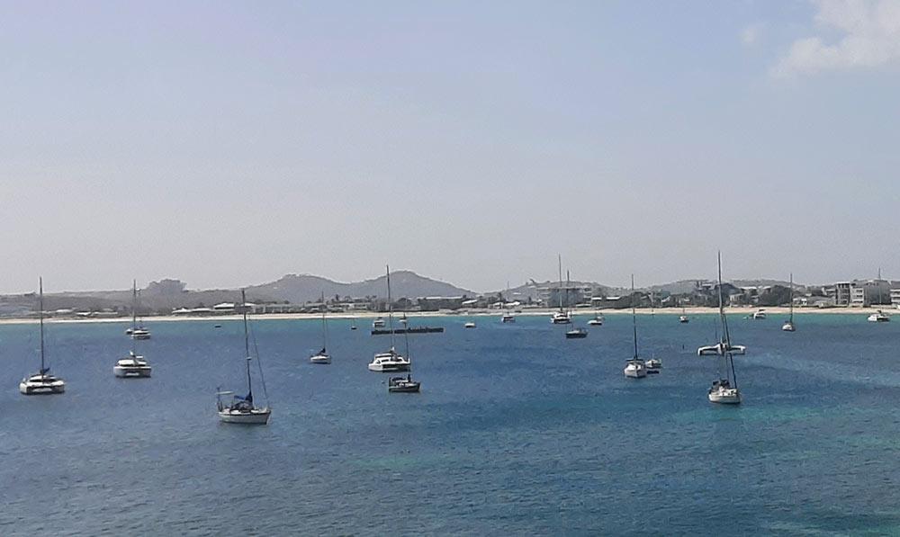 sailing in St Maarten
